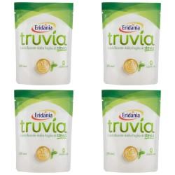 Multipack da 4 Confezioni di Dolcificante Truvia dalla Foglia di Stevia da 150 Gr Ciascuno