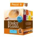 Multipack da 6 Nescafè Dolce Gusto Lungo Decaffeinato - 96 Capsule Totali