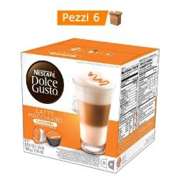 Multipack da 6 Nescafè Dolce Gusto Latte Macchiato e Caramello - 96 Capsule Totali