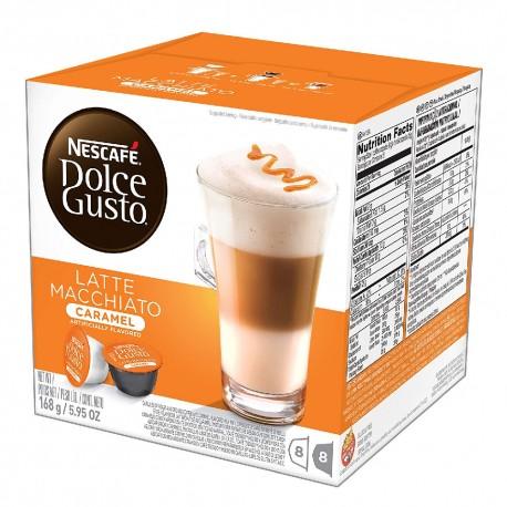Multipack da 10 Nescafè Dolce Gusto Latte Macchiato e Caramello - 160 Capsule Totali