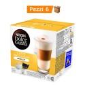 Multipack da 6 Nescafè Dolce Gusto Latte Macchiato alla Vaniglia - 96 Capsule Totali