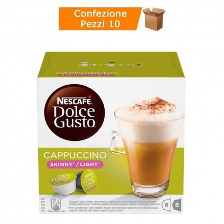 Multipack da 10 Nescafè Dolce Gusto Cappuccino Skinny Light - 160 Capsule Totali