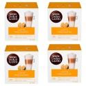 Multipack da 4 Nescafè Dolce Gusto Latte Macchiato - 64 Capsule Totali ( 32 Tazze )