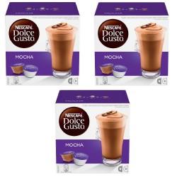 Multipack da 3 Nescafè Dolce Gusto Mocha - 48 Capsule ( 24 Tazze Totali )