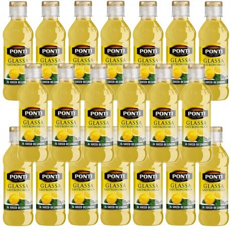 Ponti Glassa Gastronomica Al Gusto Limone 20 pezzi da 220 grammi cadauna