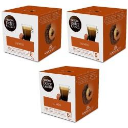 Multipack da 3 Nescafè Dolce Gusto Caffè Lungo - 48 Capsule Totali