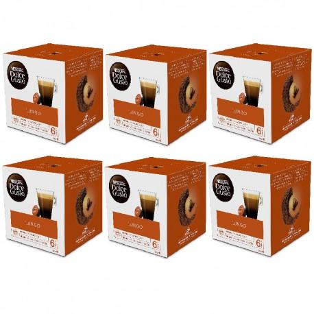 Multipack da 6 Nescafè Dolce Gusto Caffè Lungo - 96 Capsule Totali