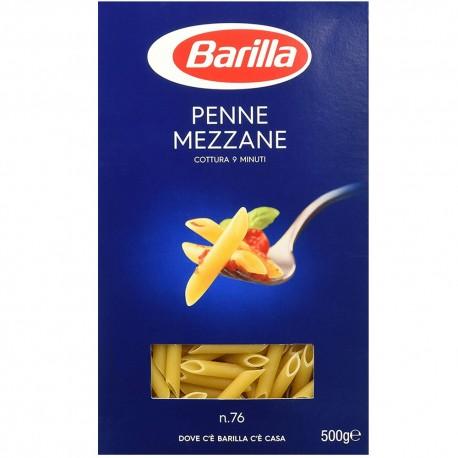 BARILLA I Classici Penne Mezzane N. 76 Cottura 9 Minuti 500 Grammi