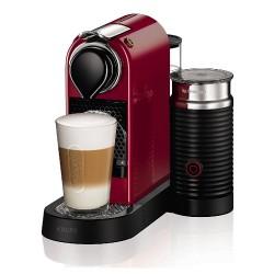 Caffettiera per Capsule Nespresso XN7605 Citiz & Milk Macchina per Espresso Krups Ciliegio