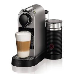 Caffettiera per Capsule Nespresso XN760B Citiz & Milk Macchina per Espresso Krups Argento