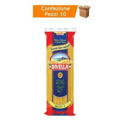 Multipack da 10 Confezioni di Divella Mezzani 3 - Pacchi da 500 Grammi Ciascuno