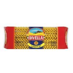 Multipack da 6 Confezioni di Lasagnoni 87 Divella - Pacchi da 500 Grammi Ciascuno