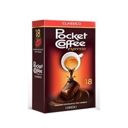 Ferrero Pocket Coffee Espresso Classico Confezione da 18 Pezzi 225 Grammi