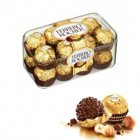 Ferrero Rocher Confezione In Scatola Da 16 Cioccolatini 200 Grammi
