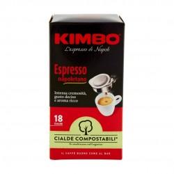 Kimbo Espresso Napoletano Caffe' In Cialde Confezione Da 18 Cialde 125 Grammi