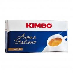 Kimbo Aroma Italiano Caffe' Macinato Per Moka Confezione Da 4x250 Grammi