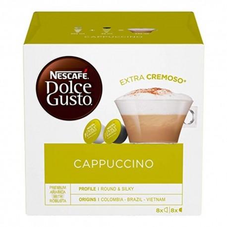 Nescafe' Dolce Gusto Cappuccino Caffe' In Capsule Confezione da 16 Capsule