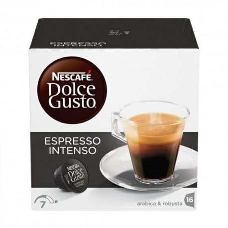 Nescafe' Dolce Gusto Espresso Intenso Caffe' In Capsule In Confezione Da 16 Capsule