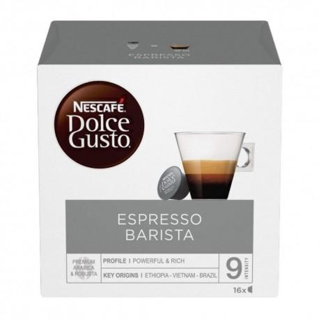 Nescafe' Dolce Gusto Espresso Barista Caffe' In Capsule In Confezione Da 16 Capsule