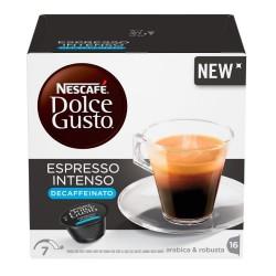 Nescafe' Dolce Gusto Espresso Intenso Decaffeinato Caffe' In Capsule In Confezione Da 16 Capsule