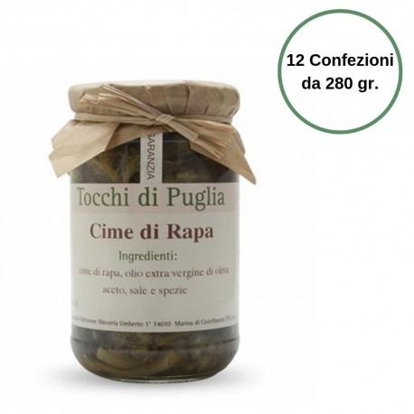Tocchi di Puglia Asparagi in Olio Extra Vergine di Oliva Multipack 12 Confezioni da 280 gr