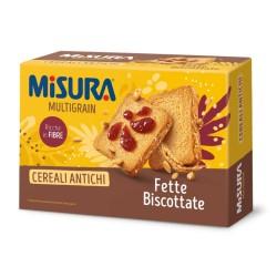 Misura Multigrain Fette Biscottate Ai Cereali Antichi In Confezione Da 320 Grammi