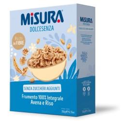 Misura Dolcesenza Cereali Frumento 100% Integrale Riso E Avena In Confezione Da 350 Grammi