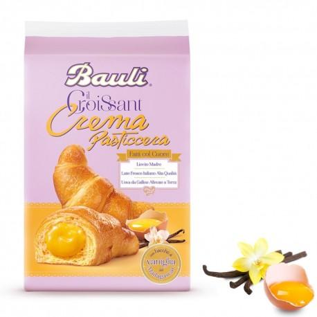 Bauli Croissant Farciti Alla Crema Pasticcera In Confezione Da 6 Croissant - 300 Grammi Totali