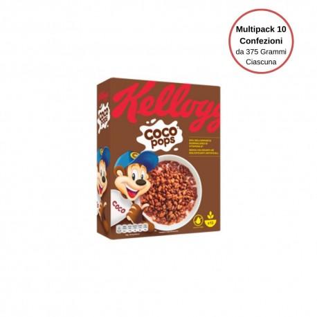 Kellogg's Coco Pops Riso Ciok Multipack Da 10 Confezioni Da 365 Grammi Ciascuna