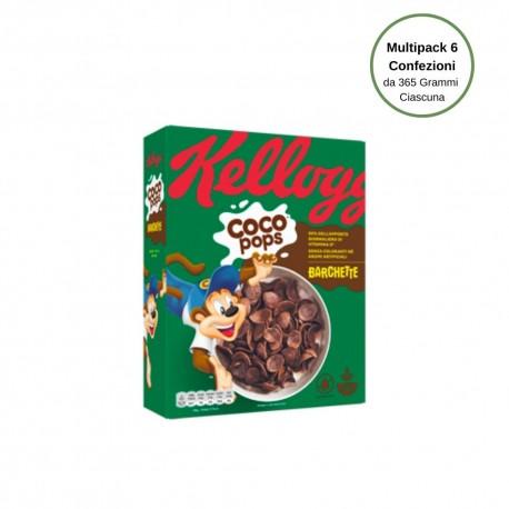 Kellogg's Coco Pops Barchette Multipack Da 6 Confezioni Da 365 Grammi