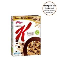 Kellogg's Special K Cioccolato Fondente Multipack Da 20 Confezioni Da 290 Grammi Ciascuna