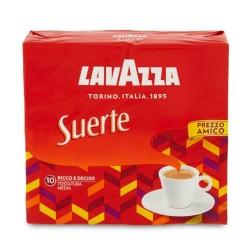 Lavazza Suerte Caffe' Macinato Per Moka 2 Confezioni Da 250 Grammi