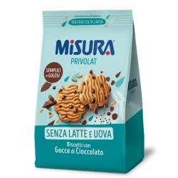 Misura Privolat Biscotti Con Gocce Di Cioccolato Confezione Da 290 Grammi