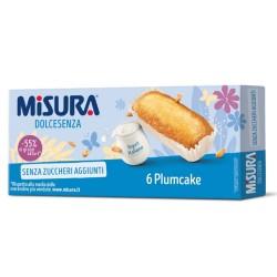 Misura Dolcesenza Plumcake Allo Yogurt Confezione da 6 Plumcake - 190 Grammi