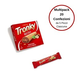 Ferrero Tronky alla Nocciola Multipack Da 20 Confezione Da 5 Pezzi Ciascuna