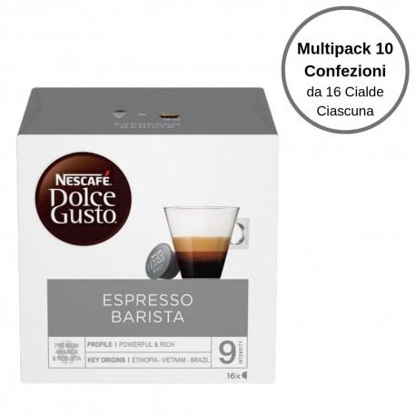 Nescafe' Dolce Gusto Espresso Barista Caffe' In Capsule Multipack Da 10 Confezioni Da 16 Capsule Ciascuna