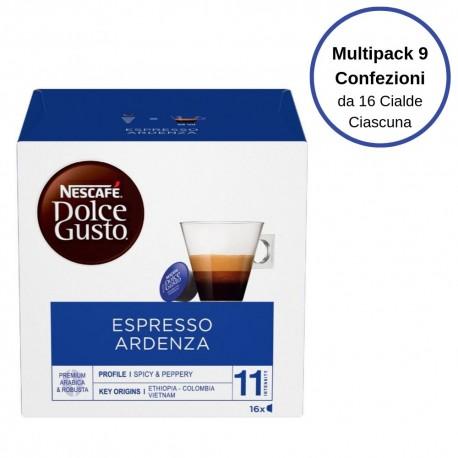 Nescafe' Dolce Gusto Espresso Ardenza Caffe' In Capsule Multipack Da 9 Confezioni Da 16 Capsule Ciascuna