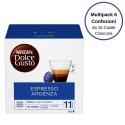 Nescafe' Dolce Gusto Espresso Ardenza Caffe' In Capsule Multipack Da 6 Confezioni Da 16 Capsule Ciascuna
