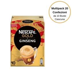 Nescafe' Gold I Golosi Ginseng Multipack da 20 Confezioni Da 10 Bustine Ciascuna