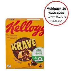 Kellogg'S Krave Choco Nut Multipack Da 16 Confezioni Da 375 Grammi Ciascuna
