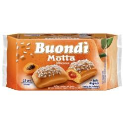Motta Buondi' All'Albicocca In Confezione Da 6 Merendine - 258 Grammi Totali