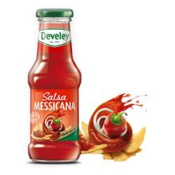 Develey Salsa Messicana In Confezione In Barattolo Di Vetro Da 250 ml