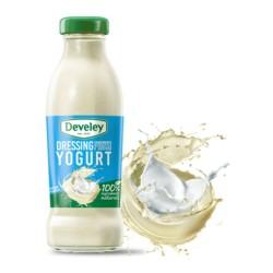 Develey Salsa Dressing Con Yogurt In Confezione In Barattolo Di Vetro Da 230 ml