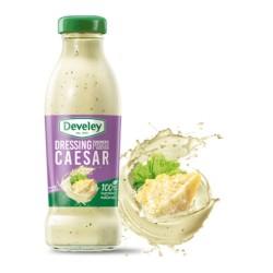 Develey Salsa Dressing Caesar In Confezione In Barattolo Di Vetro Da 230 ml