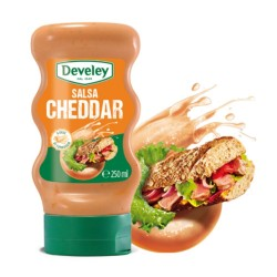 Develey Salsa Cheddar In Comoda Confezione Squeeze Da 250 ml