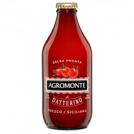 Agromonte Salsa Pronta di Pomodoro Datterino In Bottiglia Da 330 Grammi