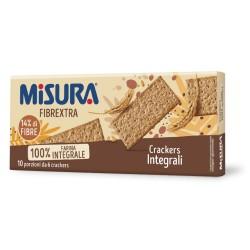 Misura Fibrextra Crackers Integrali In Confezione Da 385 Grammi Con 10 Monoporzioni
