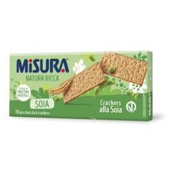 Misura Natura Ricca Crackers Alla Soia In Confezione Da 400 Grammi Con 10 Monoporzioni