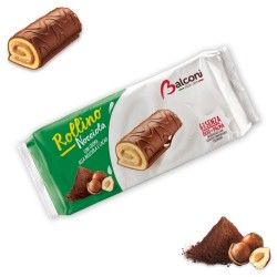 Balconi Rollino Alle Nocciole In Confezione Da 6 Rollini - 222 Grammi Totali