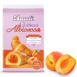 Bauli Croissant All'Albicocca In Confezione Da 6 Croissant - 300 Grammi Totali